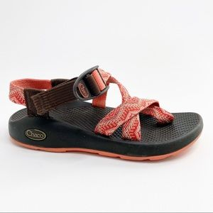Chaco Size 6 Z Classic Sandals Brown Coral